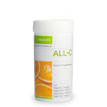 All C,  Vitamin C supplement, chewable tablets