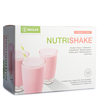 NutriShake, Protein drink, strawberry